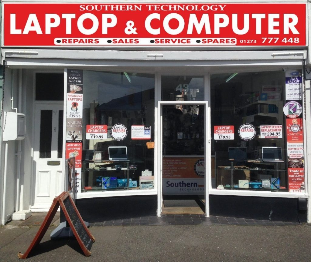 Laptop repair shop in Hove